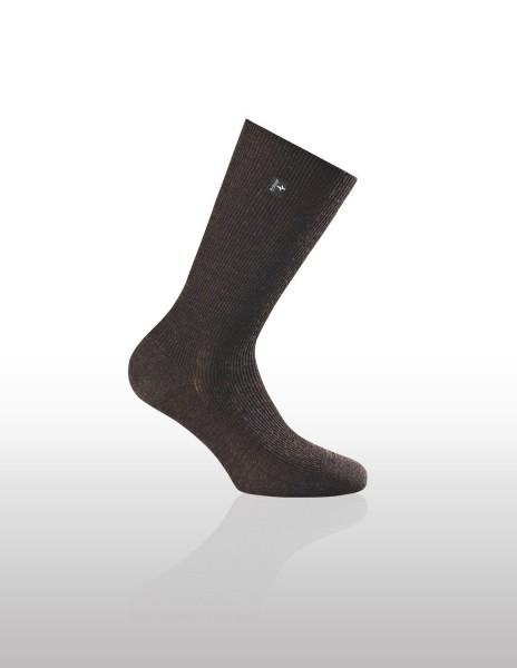 Merinowolle-Socken mit rutschfestem Schaft