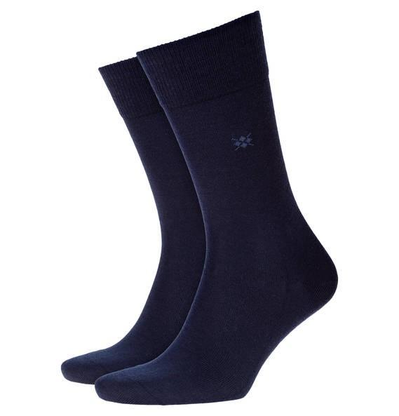 Klimaregulierende Socken aus Schur- und Baumwolle-
