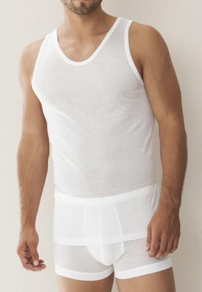 ZIMMERLI - Luxuriöses Shirt ohne Ärmel aus feinster Baumwolle