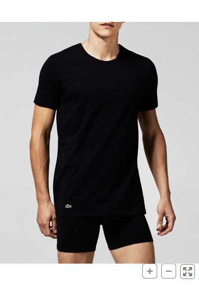 LACOSTE - 2 Cotton Stretch Rundhals T-Shirts