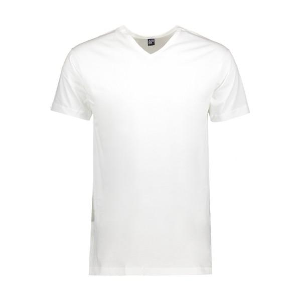 2 Regular Fit T-Shirts mit V-Ausschnitt