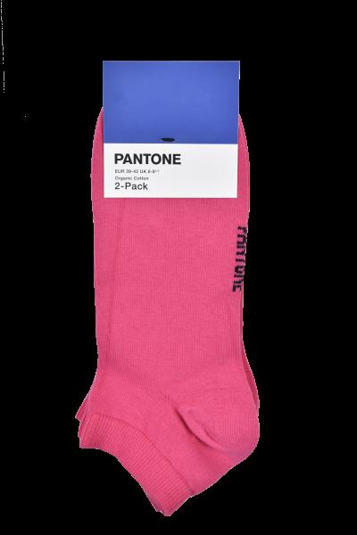 PANTONE - Organic Cotton Sneakersocken 2-Pack