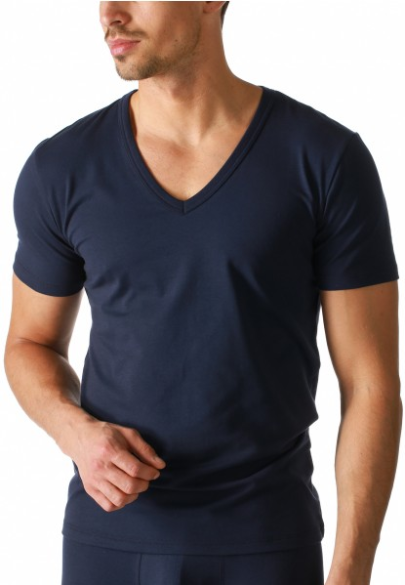 Organic V-Shirt aus Bio-Cotton