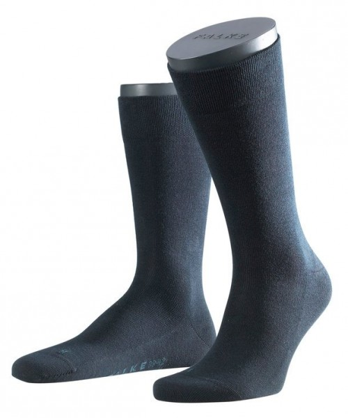 "FALKE - ""Sensitive London"" Baumwoll-Socken mit Komfortbund"