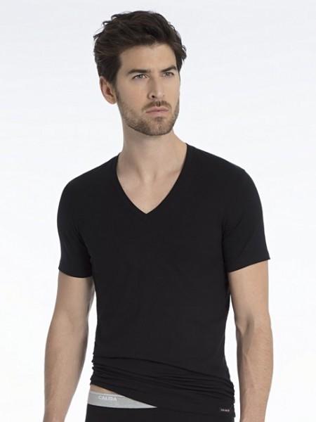 CALIDA - Activity Cotton V-Shirt