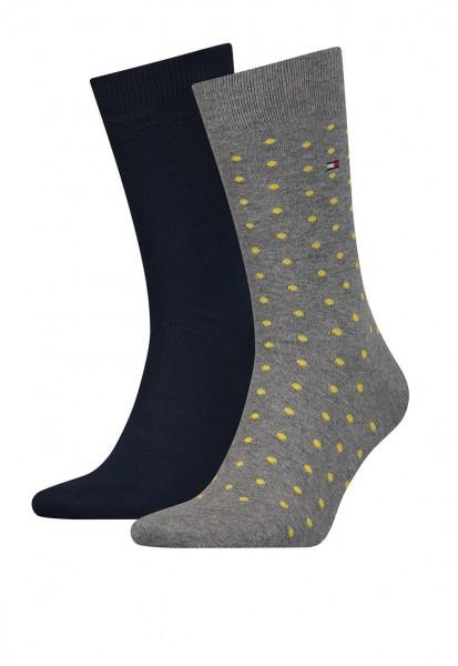 TOMMY HILFIGER - Gemusterte + einfarbige Socken