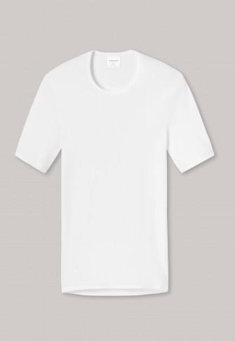 SCHIESSER - Klassisches Feinripp-T-Shirt mit Rundhals