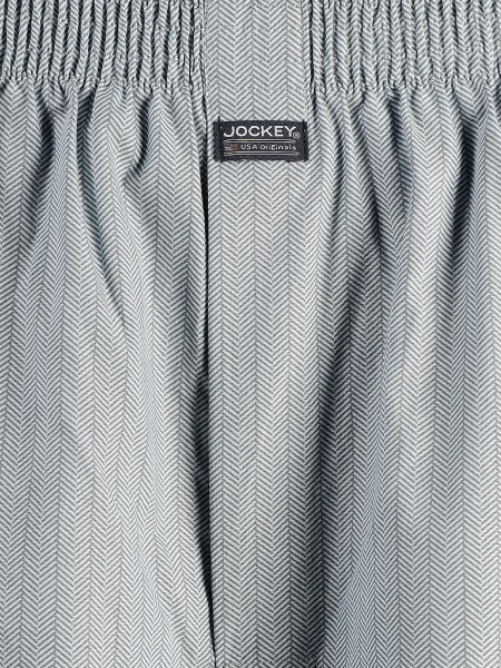 100% Cotton Boxershorts - mint-hahnentritt