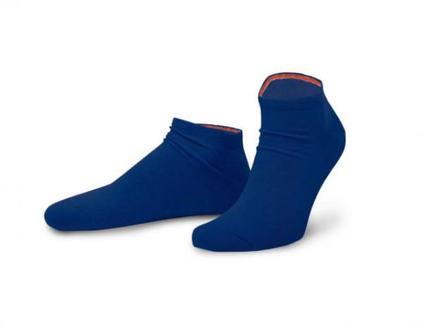 VON JUNGFELD - Modische Sneakersocken für Individualisten - Meeresblau