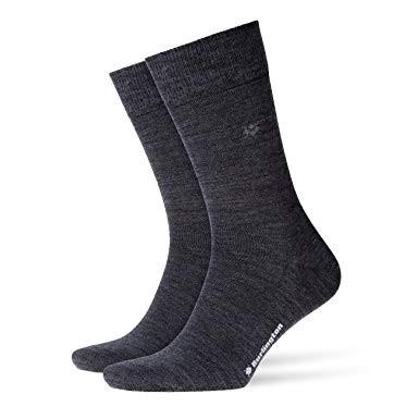 BURLINGTON - Klimaregulierende Socken aus Schur-/Baumwolle