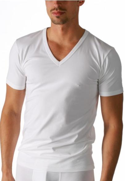 Organic V-Shirt aus Bio-Cotton
