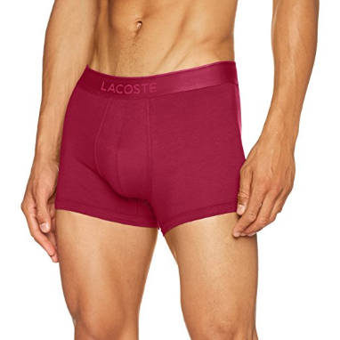 LACOSTE - Piqué Pima Cotton Modal Trunks