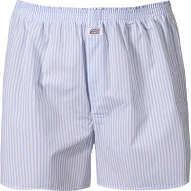 100% Cotton Boxershorts - blau gestreift